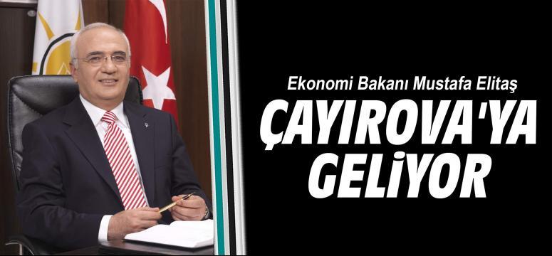 Bakan Mustafa Elitaş Çayırova'ya geliyor