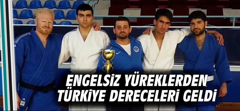 Engelsiz yüreklerden Türkiye Dereceleri Geldi