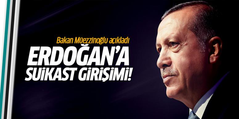 Cumhurbaşkanı Erdoğan'a suikast girişimi