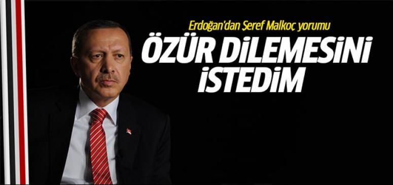 Erdoğan'dan Şeref Malkoç yorumu