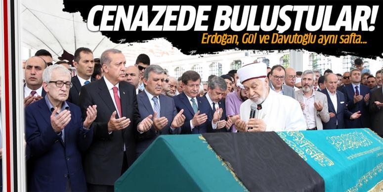 Erdoğan, Gül ve Davutoğlu aynı safta!
