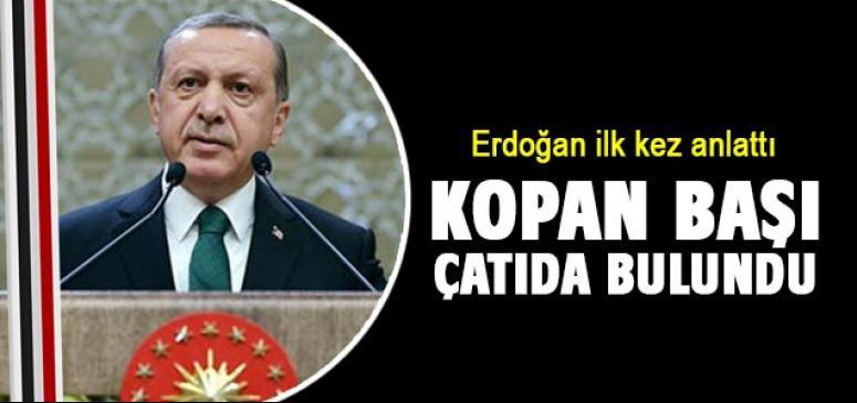 Erdoğan ilk kez anlattı