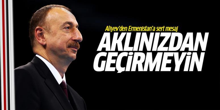 Ermenistan'a sert mesaj