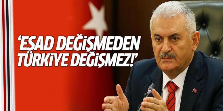 Esad değişmeden Türkiye değişmez