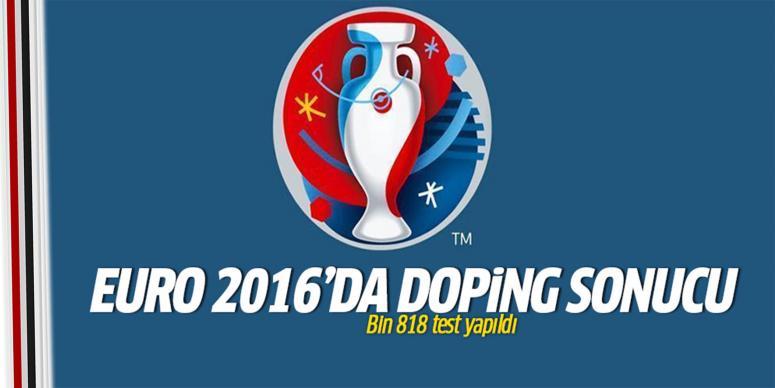 EURO 2016'da doping sonucu