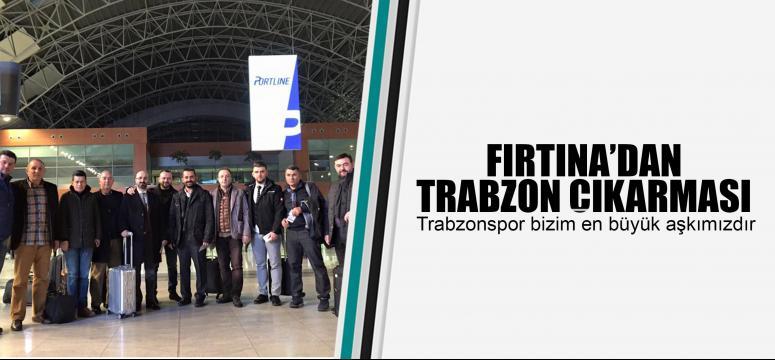Fırtına'dan Trabzon çıkarması