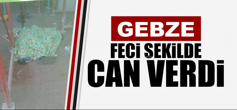 Gebze'de feci ölüm
