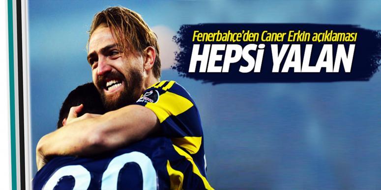 Fenerbahçe'den Caner Erkin açıklaması!