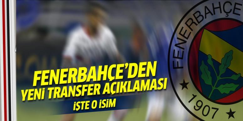 Fenerbahçe ilk transfer bombasını patlattı