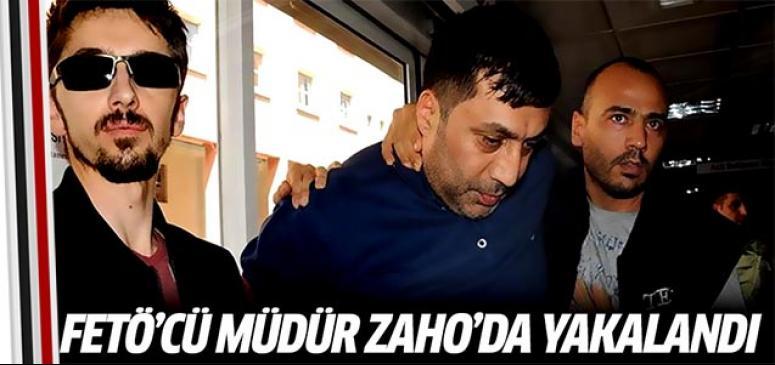 FETÖ'cü müdür Zaho'da yakalandı