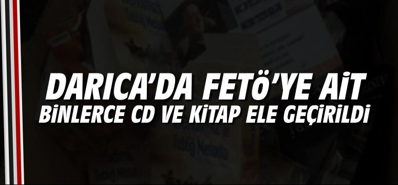 FETÖ'ye ait binlerce CD ve kitap ele geçirildi