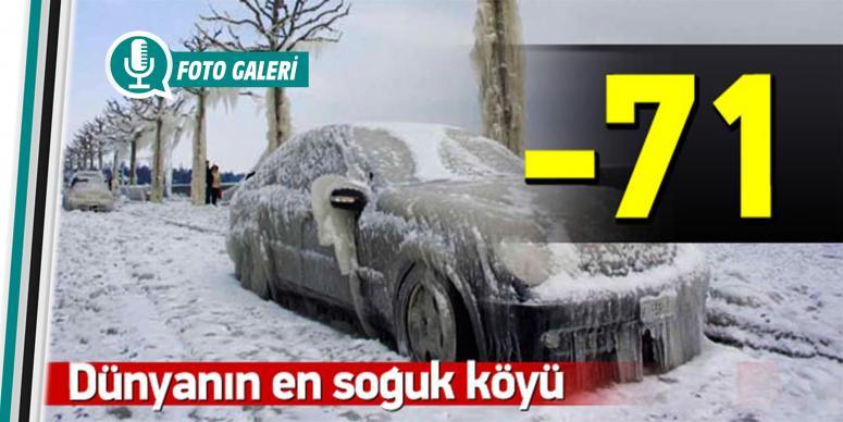 Dünya'nın en soğuk köyü