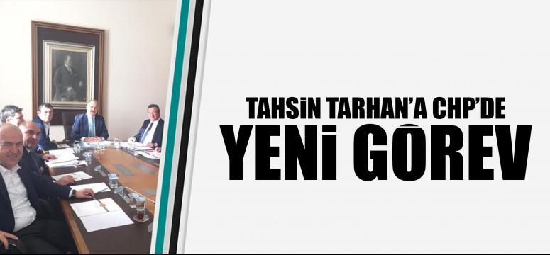 Tahsin Tarhan'a Chp'de Yeni Görev