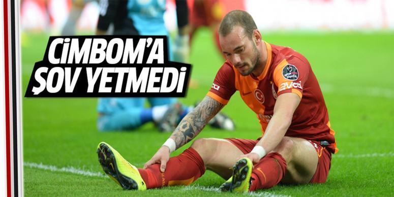 Galatasaray şovla bitirdi!