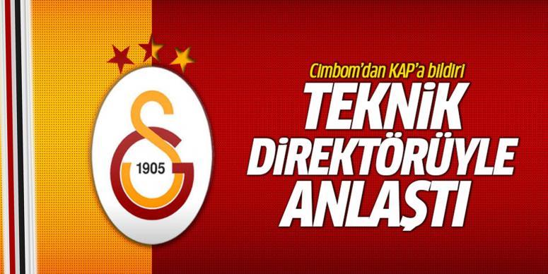 Galatasaray teknik direktörüyle anlaştı