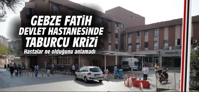 Gebze Fatih Devlet Hastanesinde Taburcu Krizi