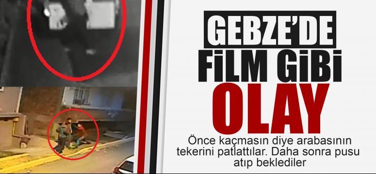Gebze'de film gibi bıçaklama