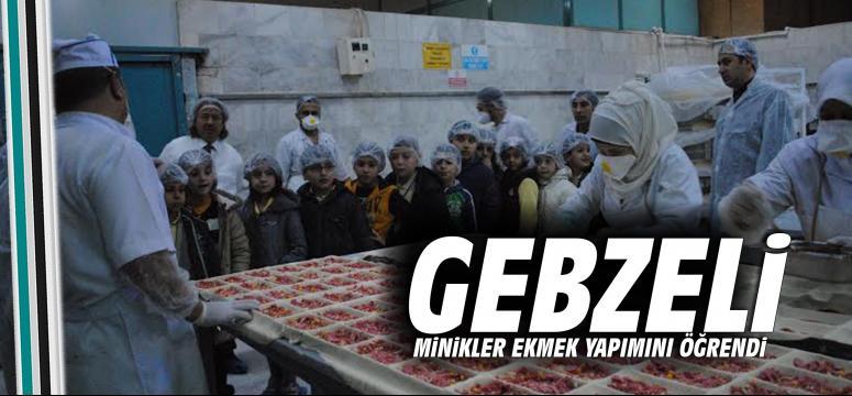 Gebze Belediyesi Halk Ekmek Tesisleri Üretimini Gösterdi