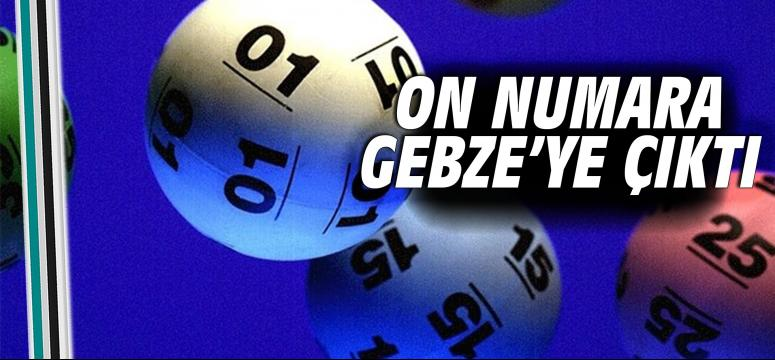 On numara Gebze'ye çıktı