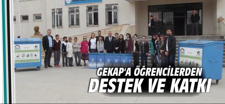 GEKAP'a öğrencilerden ilgi ve destek