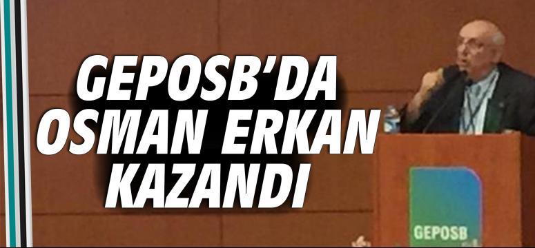 GEPOSB'da Osman Erkan kazandı