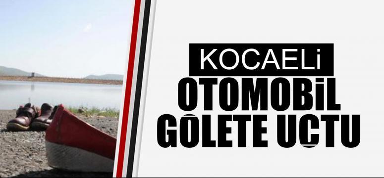 OTOMOBİL, GÖLETE UÇTU: İKİ KİŞİ KAYIP