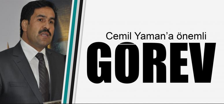 Cemil Yaman'a önemli görev
