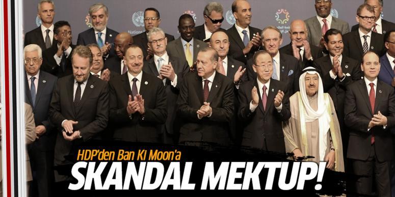 HDP'den skandal mektup