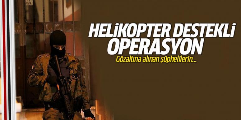 Helikopter destekli operasyon
