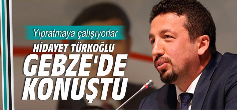 Hidayet Türkoğlu Gebze'de konuştu