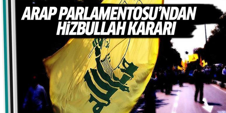 Arap Parlamentosu'ndan Hizbullah kararı