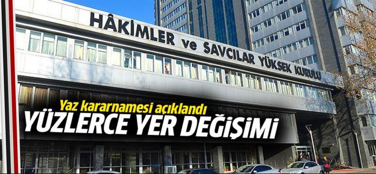 HSYK 3 bin Hakim-Savcının yerini değiştirdi