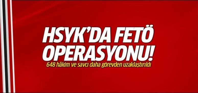 HSYK'da FETÖ operasyonu