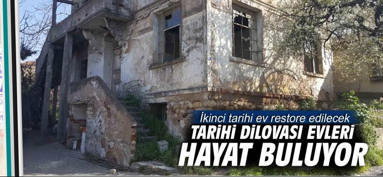 İkinci tarihi ev restore edilecek