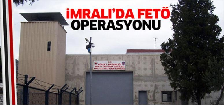 İmralı'da FETÖ operasyonu
