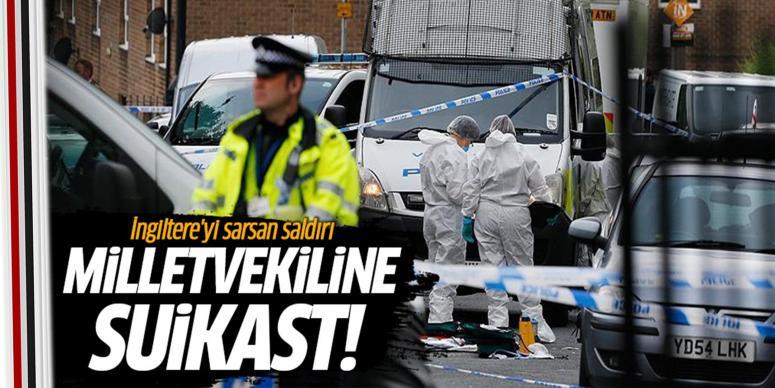 İngiltere'de AB yanlısı vekile suikast