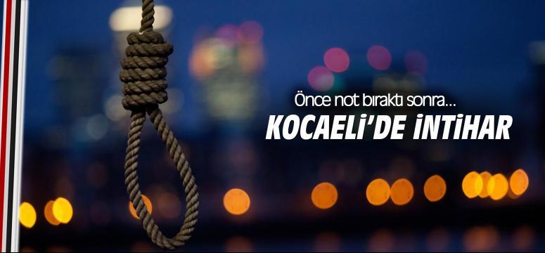 Kocaeli'de intihar