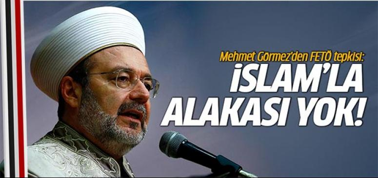 İslam'la alakası yok!