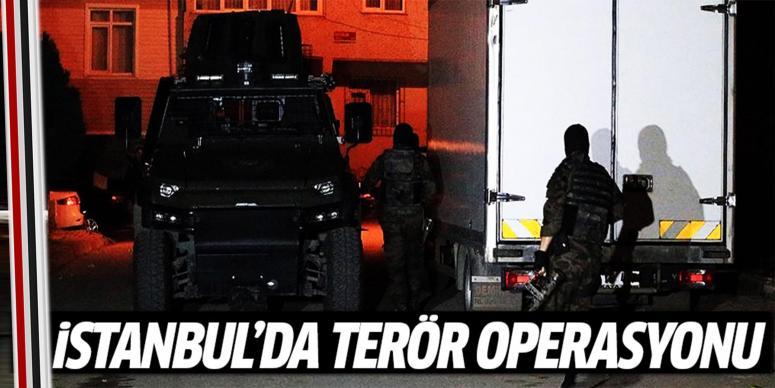 İstanbul'da terör operasyon
