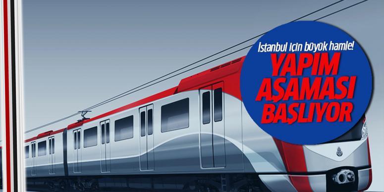 İstanbul'un ulaşım projeleri başlıyor