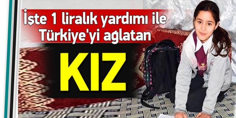 Türkiye'yi ağlatan kız