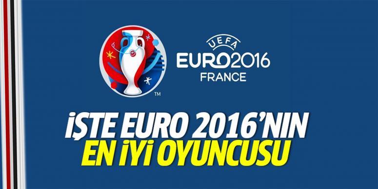 İşte EURO 2016'nın en iyi oyuncusu