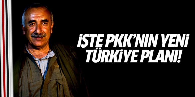 İşte PKK'nın Türkiye planı!