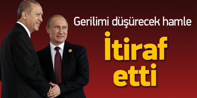 3 gün sonra Erdoğan itirafı
