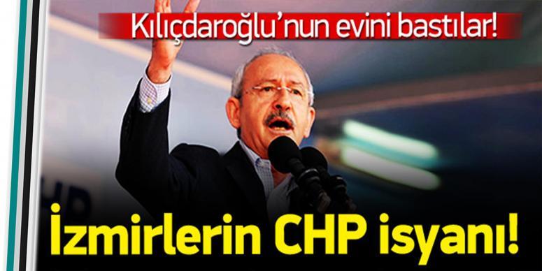 İzmirlilerin Chp isyanı