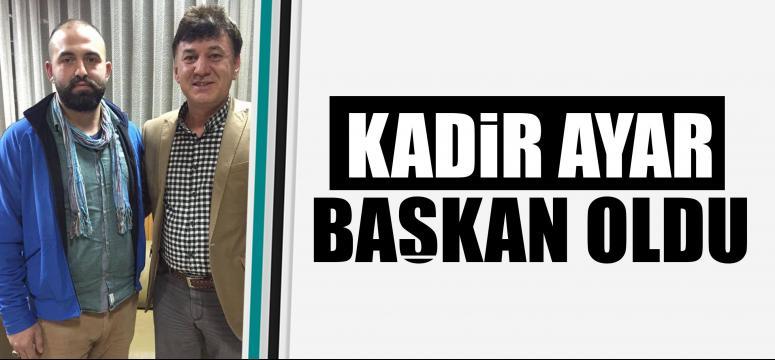Gebze Trabzonlular Derneği Gençlik Kolları yeni başkan Kadir Ayar