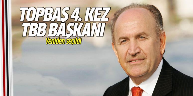 Kadir Topbaş 4. kez TBB Başkanı