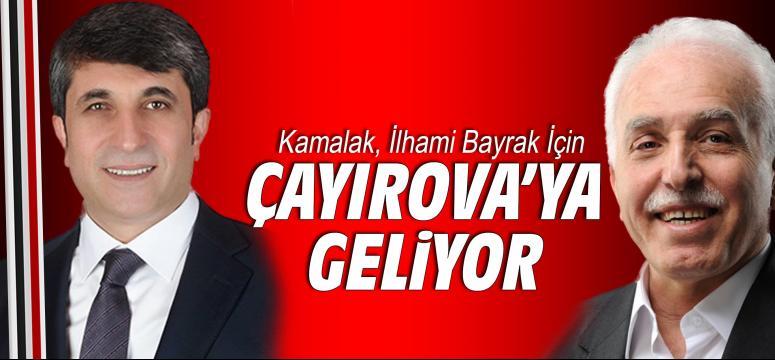 Kamalak İlhami Bayrak İçin Çayırova'ya Geliyor