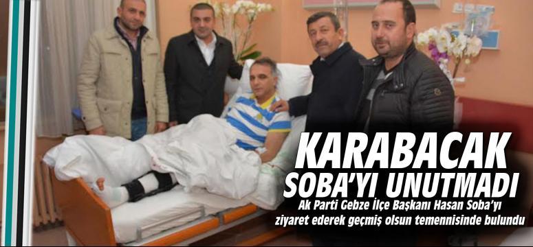 Karabacak Soba'yı unutmadı