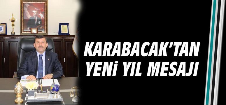 Karabacak'tan yeni yıl mesajı